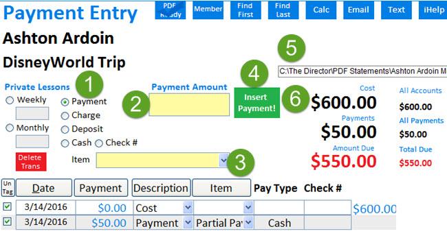 MMP Enter Payment