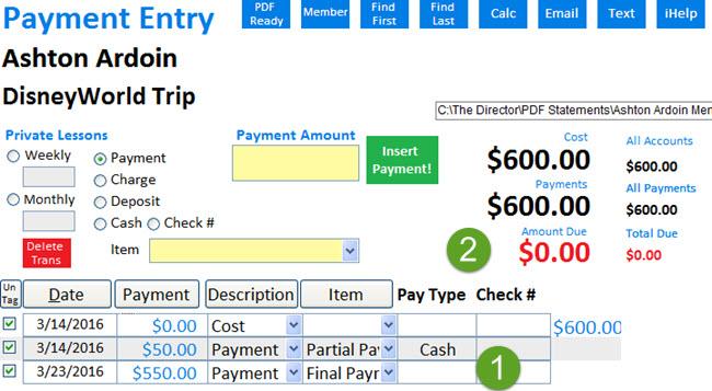 MMP final Payment